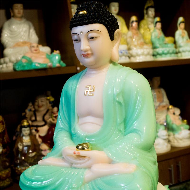 tượng bổn sư thích ca bằng đá
