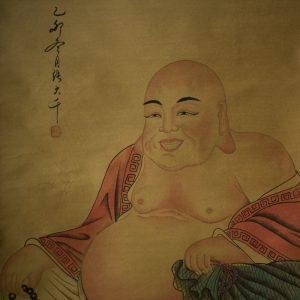 Tranh Đức Phật Di Lặc Vẽ