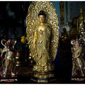 Tượng Phật A Di Đà Mạ Cát