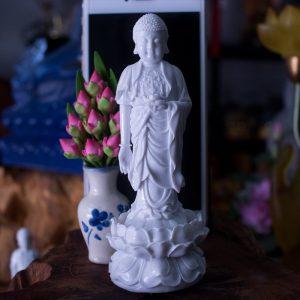 Tượng Phật A Di Đà Để Xe Hơi Ô Tô
