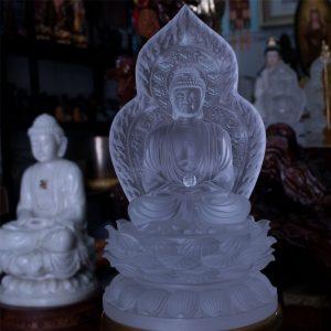 Tượng Phật A Di Đà Lưu Ly