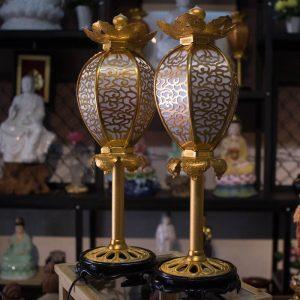 Đèn Lồng Điện Cúng Phật