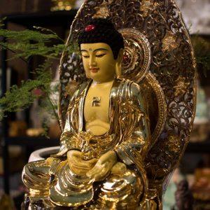 Tượng Phật Dược Sư Bằng Đồng