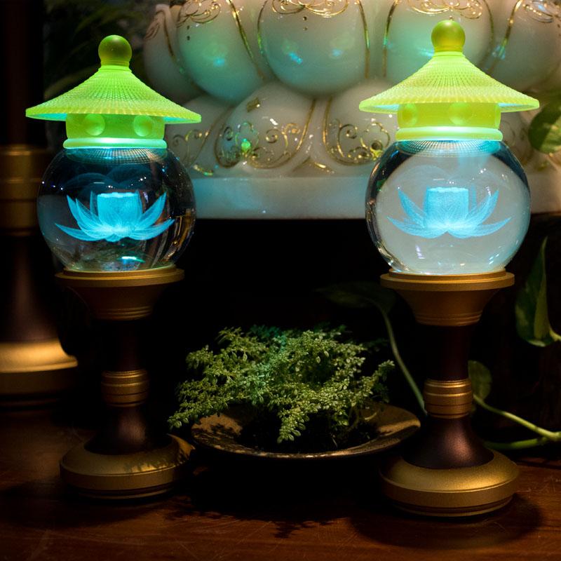 Đèn Điện Cúng Phật