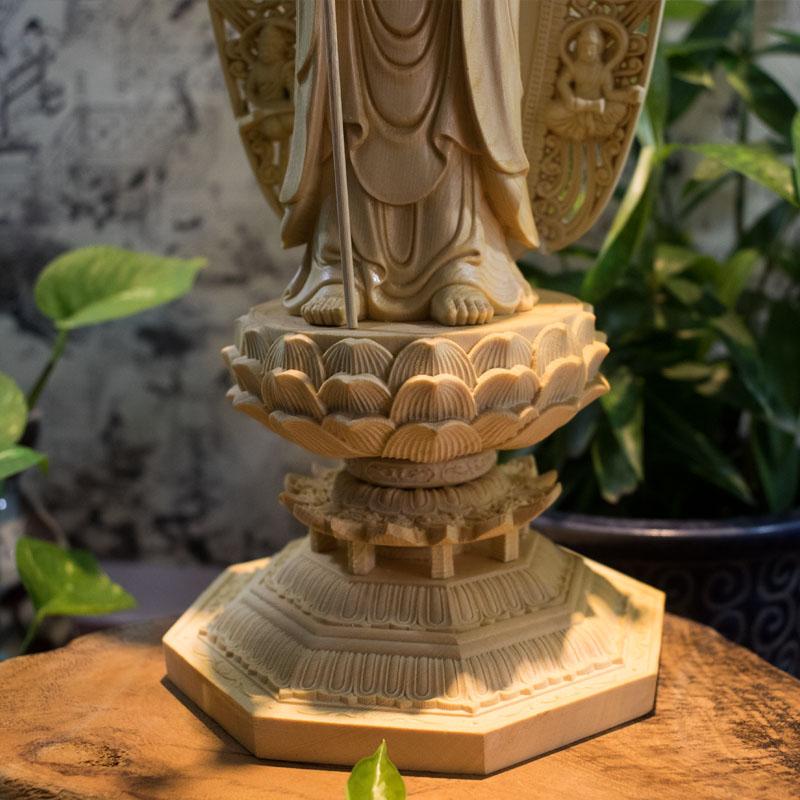 Tượng Địa Tạng Bồ Tát Đứng
