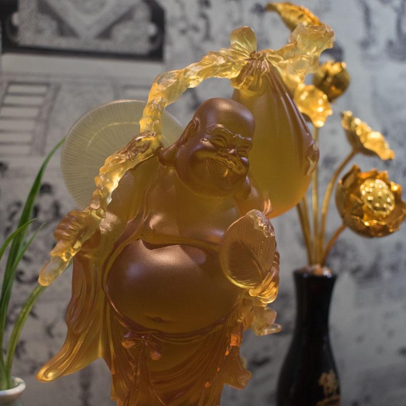 Tượng Phật Di Lặc Bằng Lưu Ly