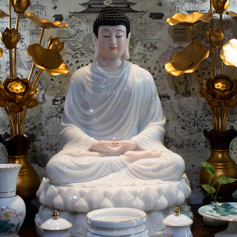 Hoa Sen Đồng Xi Mạ Vàng