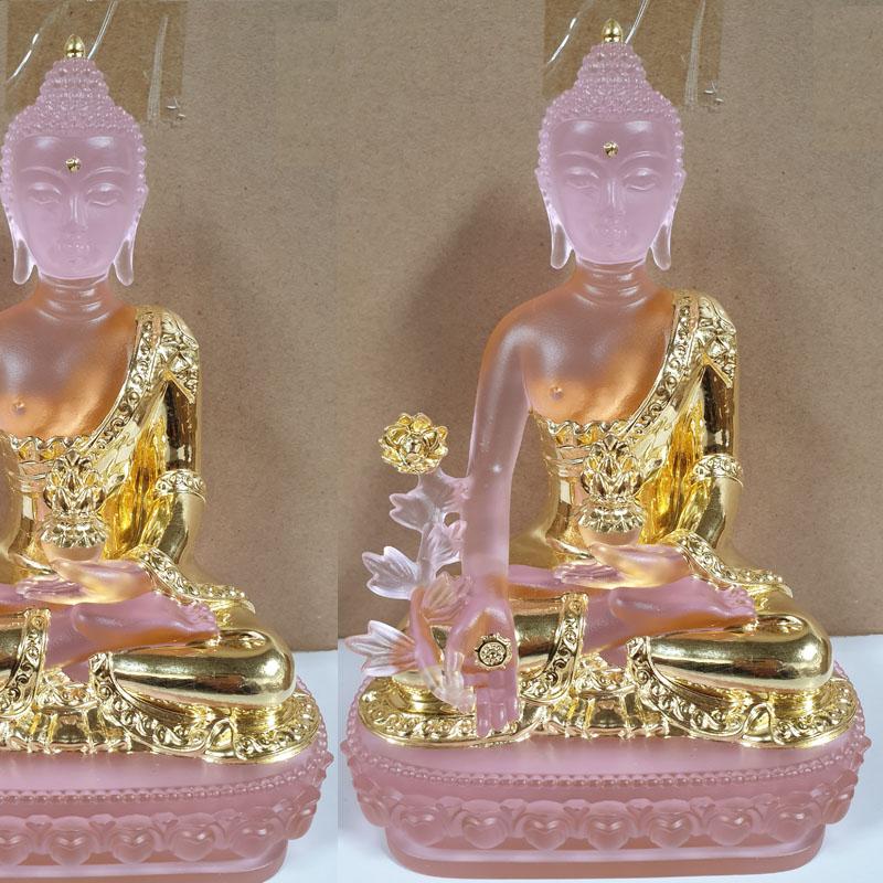 Tượng Phật Dược Sư Dát Vàng
