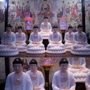 Bộ Tượng Thất Phật Dược Sư