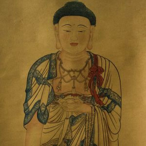 Tranh Phật A Di Đà Vẽ