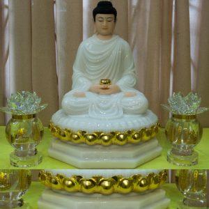 Tượng Phật Thích Ca Mâu Ni Bột Đá