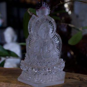 Tượng Phật Quan Âm Để Xe Hơi Ô Tô