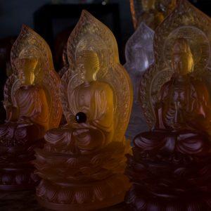 Tượng Ta Bà Tam Thánh Lưu Ly
