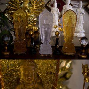 Tượng Phật Bà Quan Âm Bằng Lưu Ly