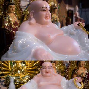 Tượng Phật Di Lặc Bằng Bột Đá