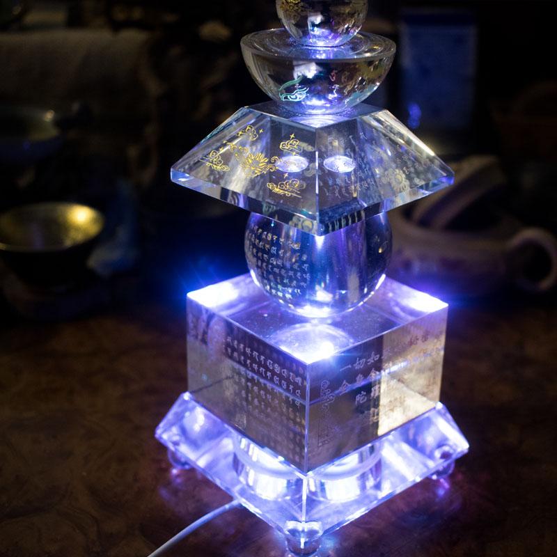đế đèn led tháp xá lợi