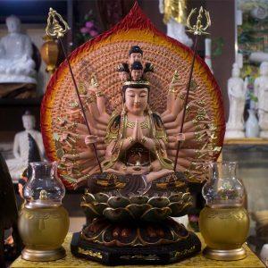 Tượng Bồ Tát Thiên Thủ Thiên Nhãn