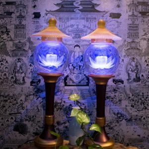 Đèn Thờ Điện Cúng Phật