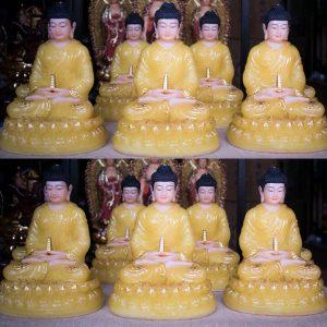 Tượng Phật Dược Sư Bằng Bột Đá