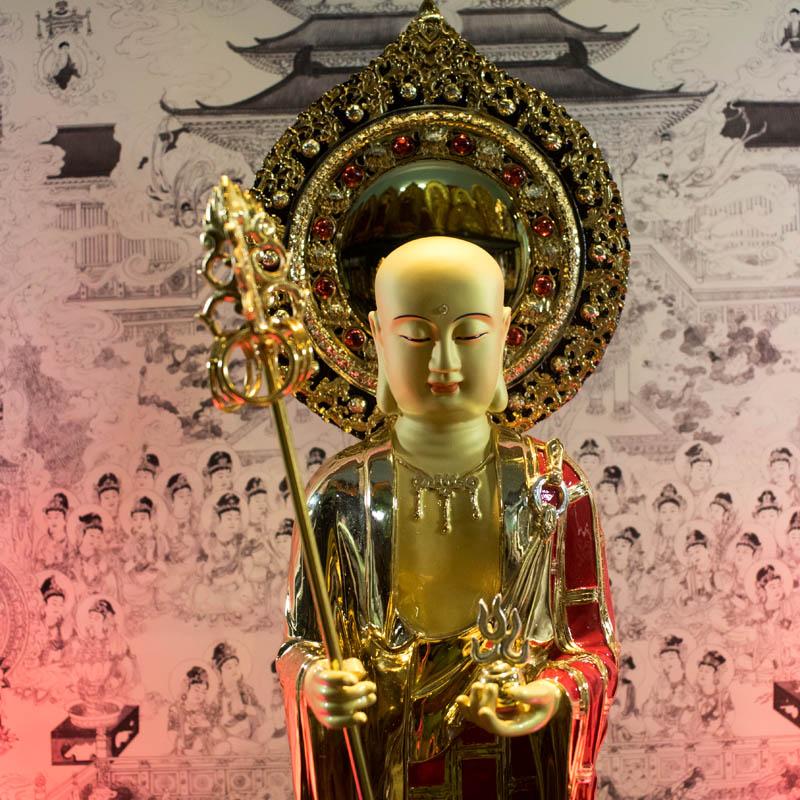 Tượng Đồng Địa Tạng Bồ Tát