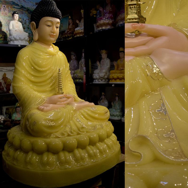 Tượng Dược Sư Phật Bột Đá