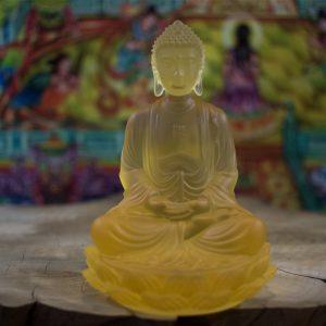 tượng Phật để xe