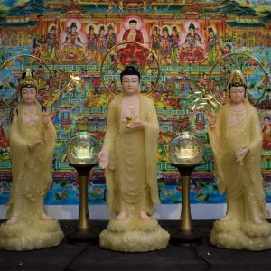 Tượng Tam Thế Phật