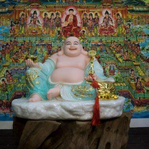 Phật Di Lặc ngồi