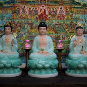 Bộ tượng Tam Thánh