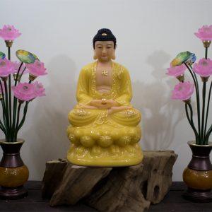 Phật Thích Ca đá thạch anh