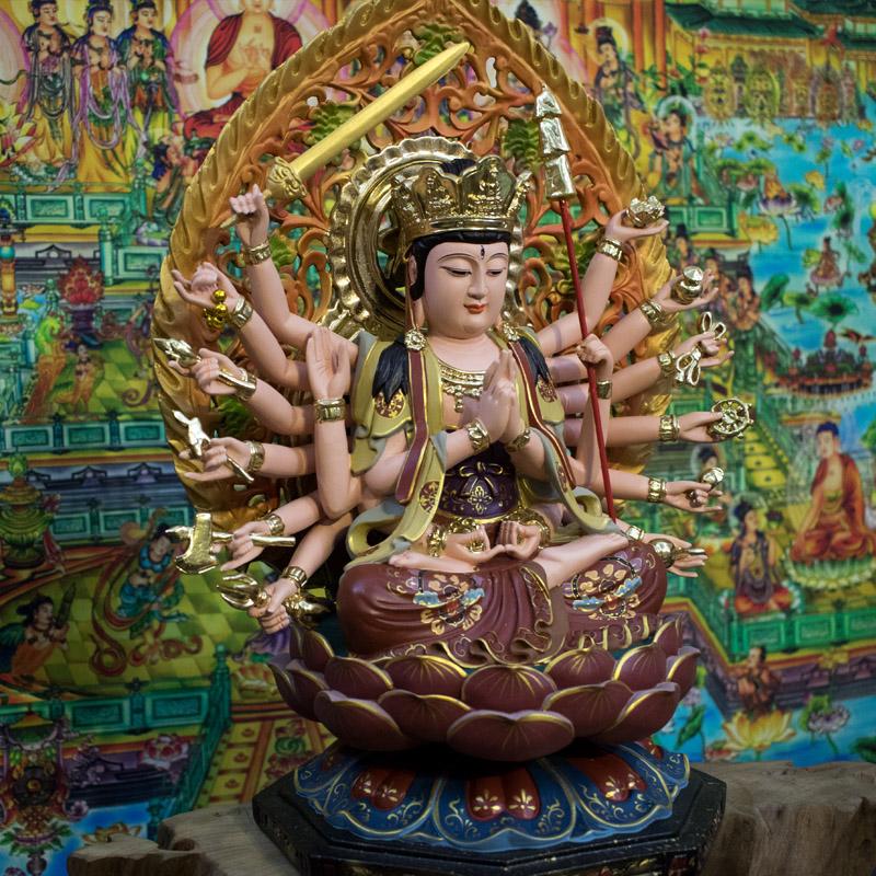 Tượng Chuẩn Đề Phật Mẫu