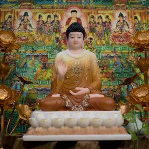 Phật Thích Ca thủ ấn